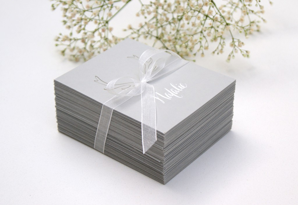 Bundle of table place cards