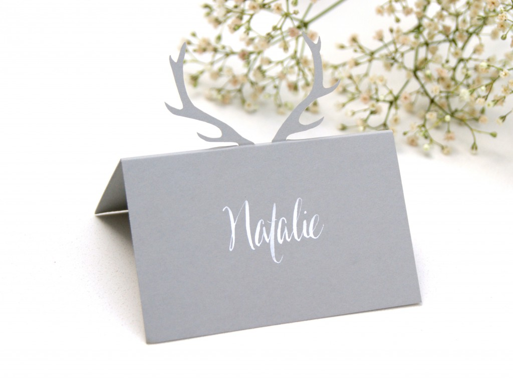 Bespoke table place card