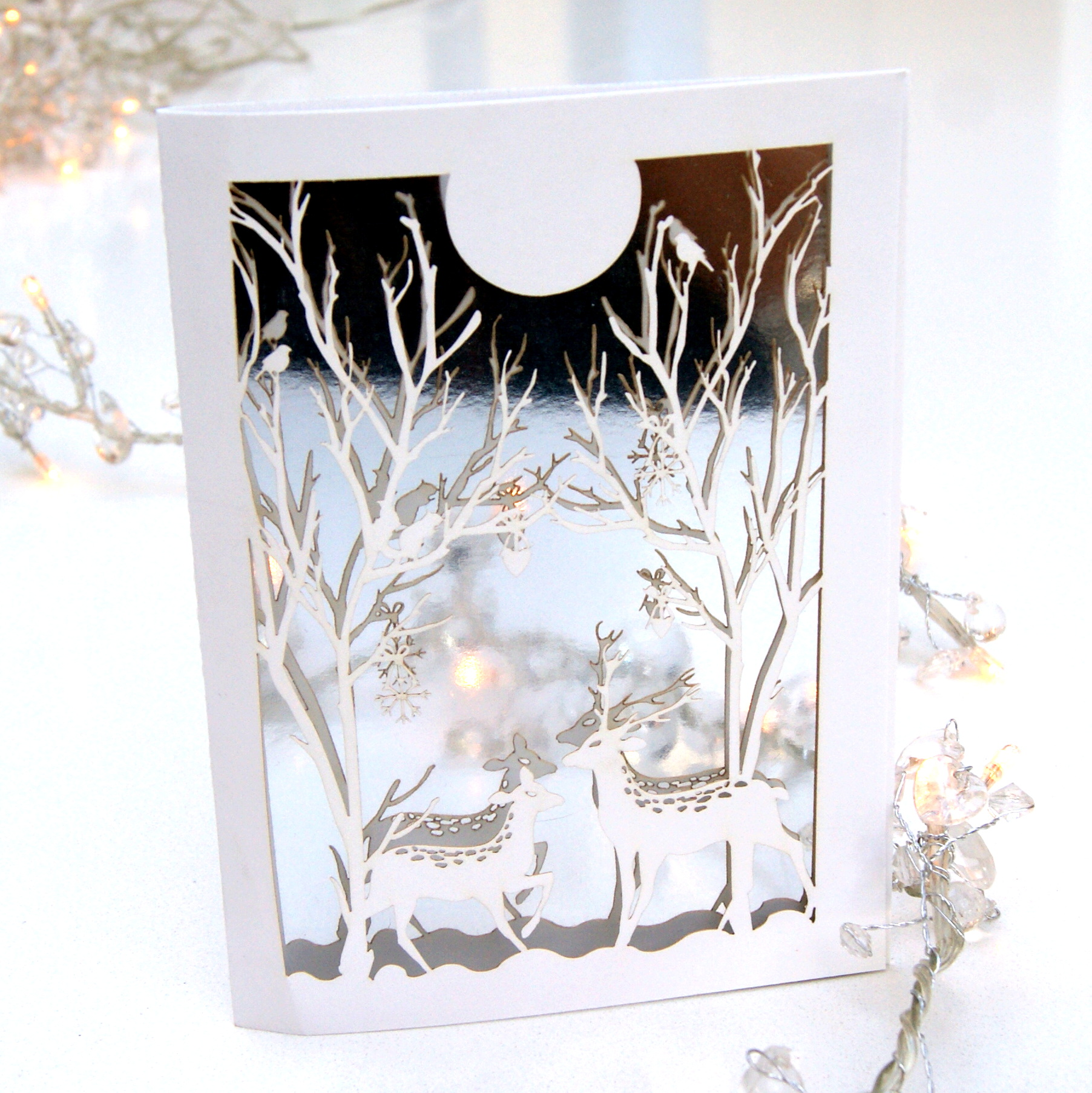 magical christmas photo cards