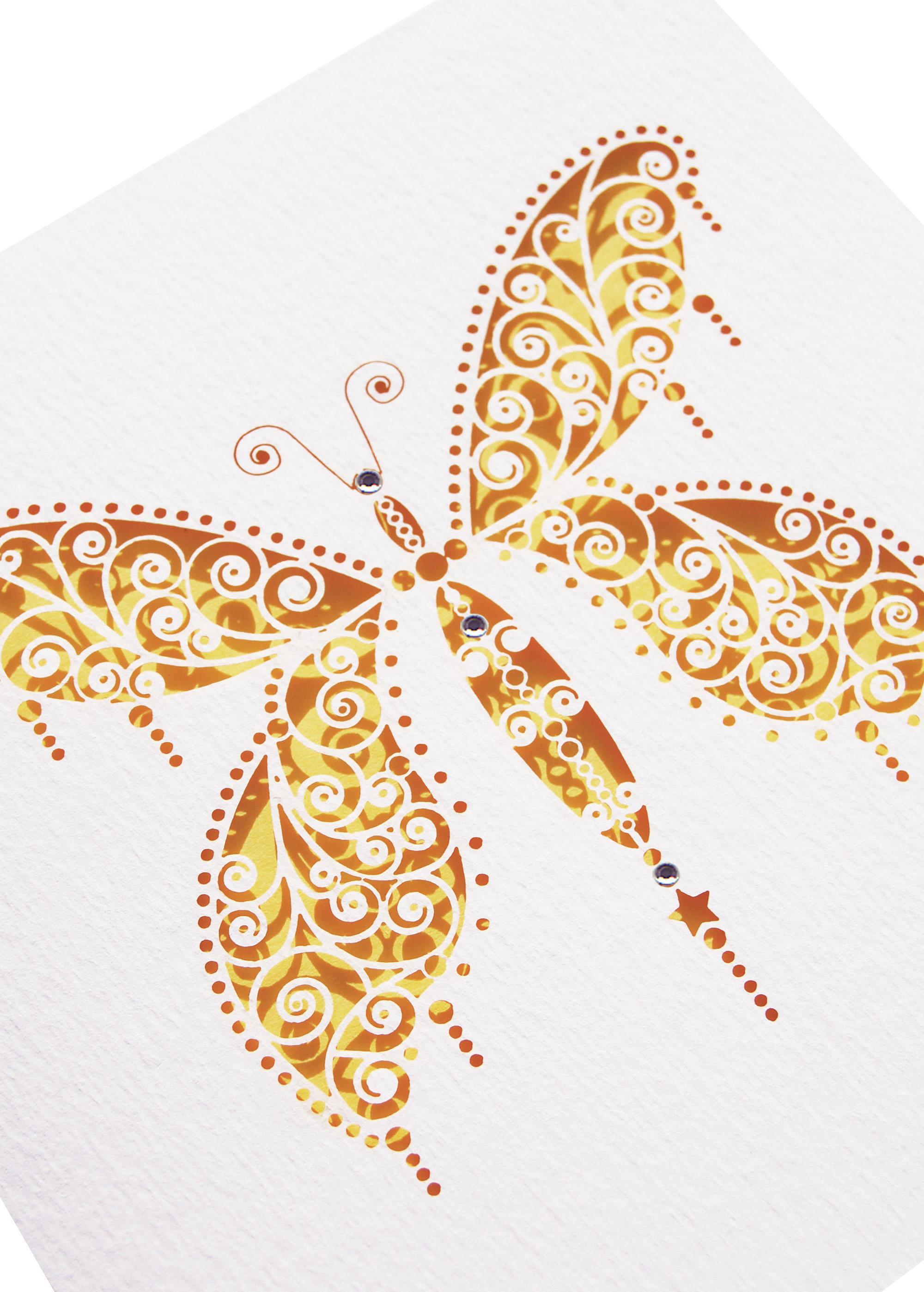 Buttercup Yellow Butterfly Menu from www.hummingbirdcards.co.uk Prices from £3.25 DIY and £4.15 Ready made