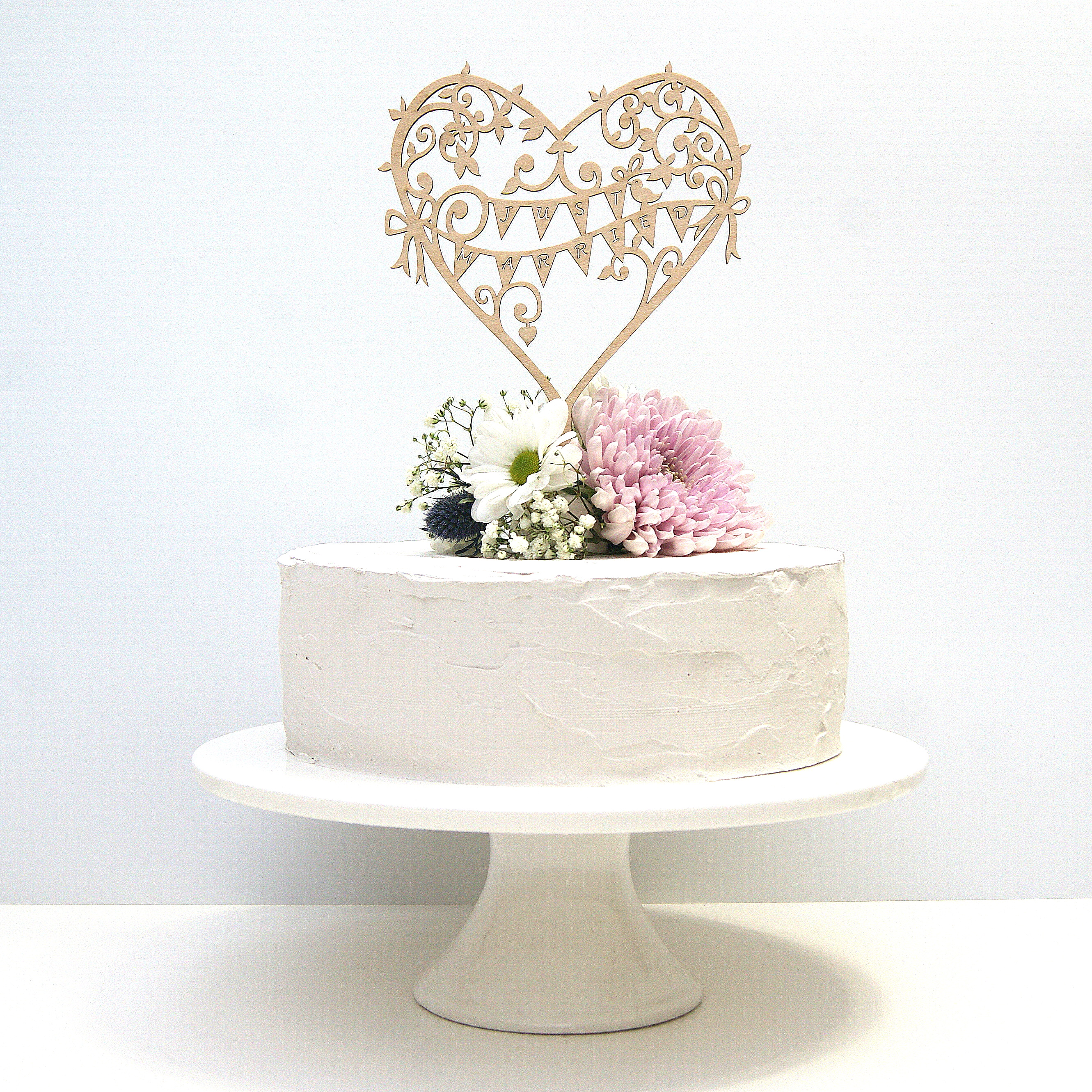 Garden Party Cake Toppers - Hummingbird Card Company Blog