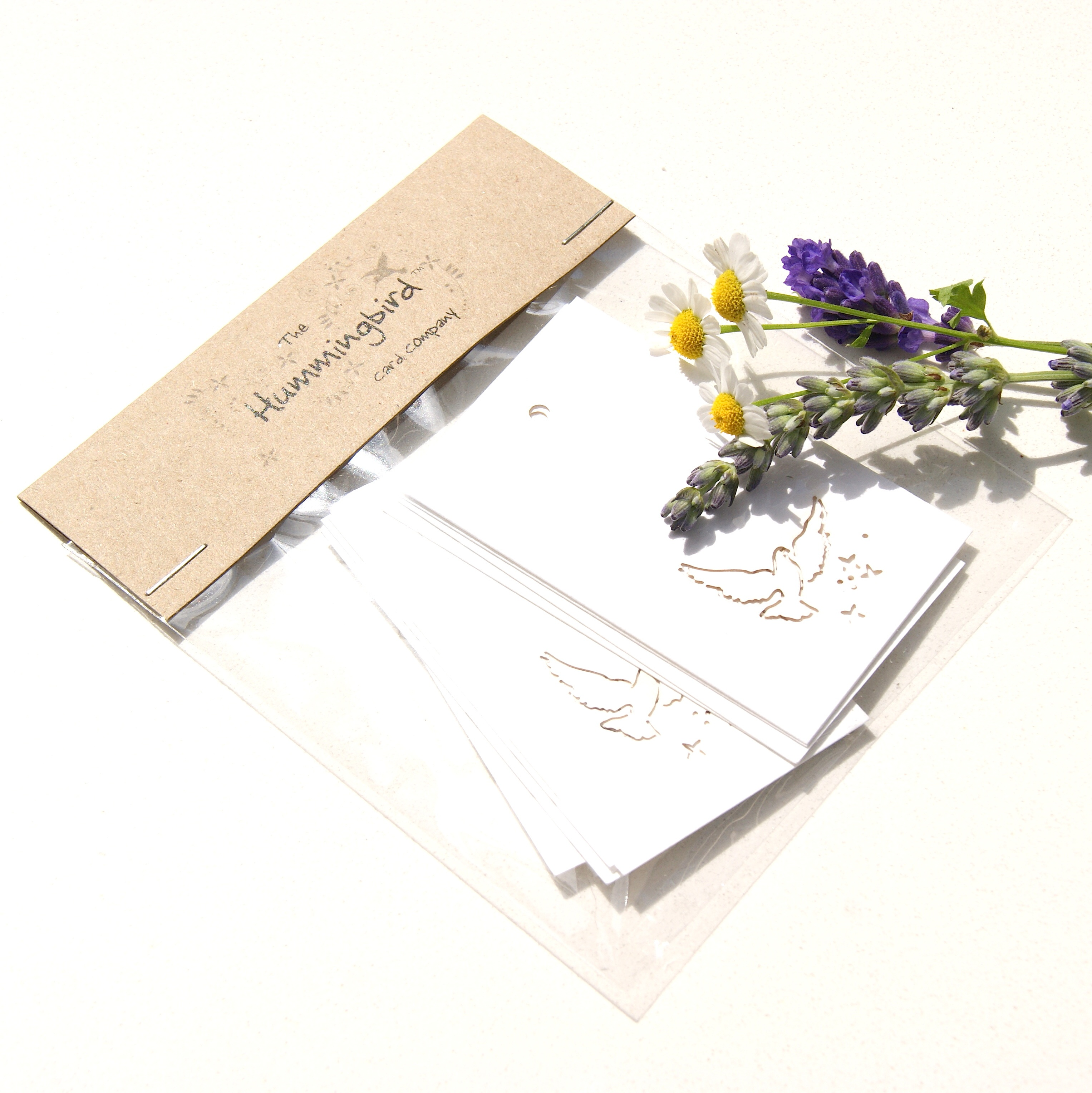 Dove Tags Shop Online Hummingbird Card Company