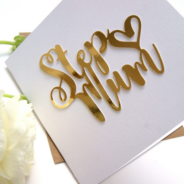 Stepmum mothers day card