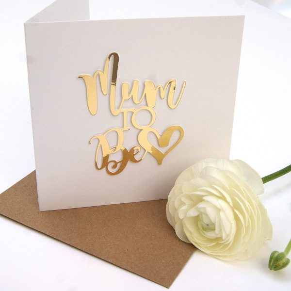 mum to be mothers day card