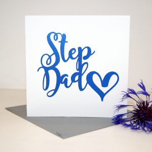 Step Dad Birthday Card