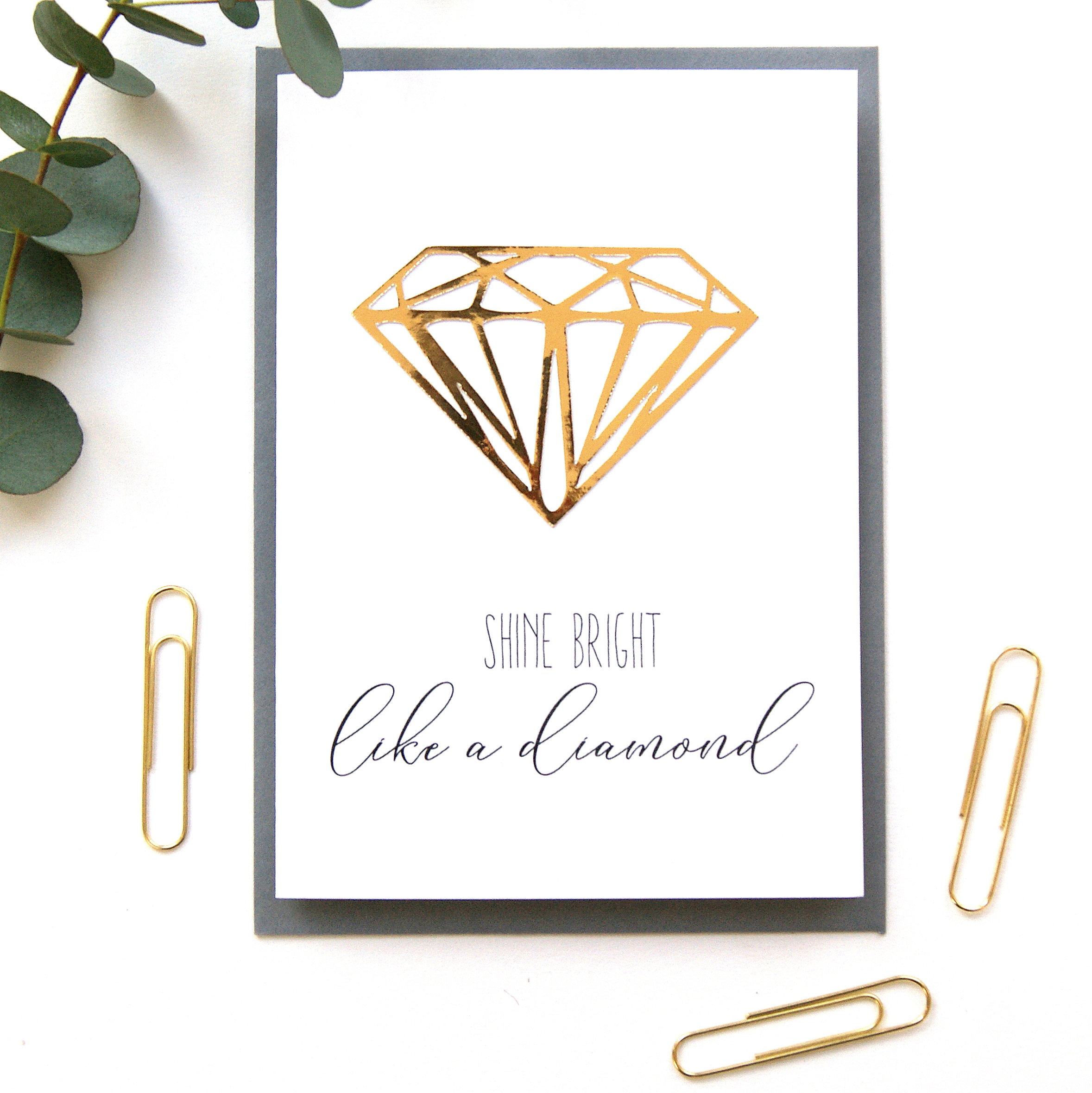 by littlesilverleaf engagement personalised diamond product little wedding original ring card or