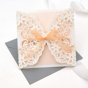 will you be my... doily lace card