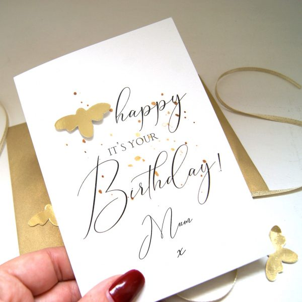 Be Happy Its Your Birthday Bee Card