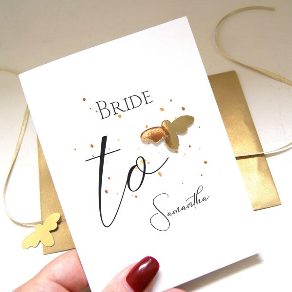 Bride To Be Bee Card
