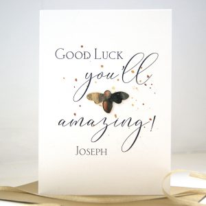 Good Luck Bee Card