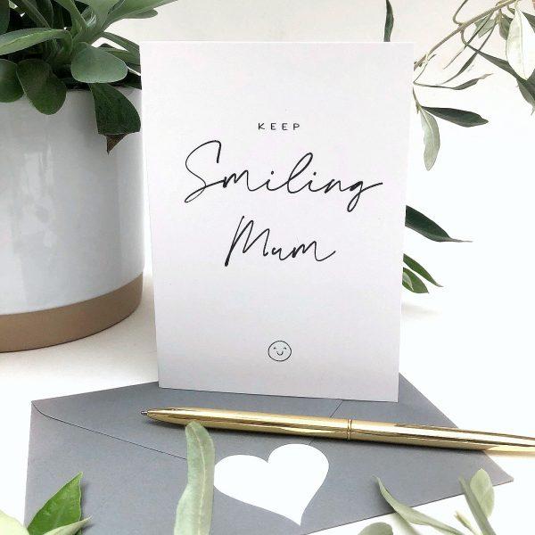 Keep Smiling Personalised