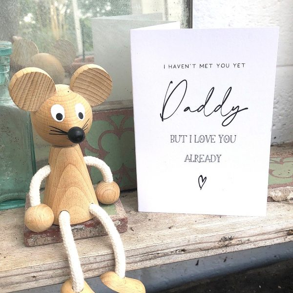 I LOVE YOU ALREADY FROM THE BUMP FATHERS DAY CARD