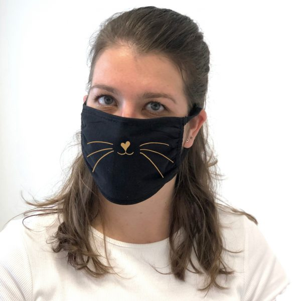 glamour puss face mask